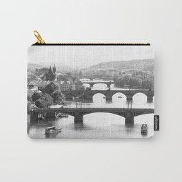 Vltava River in Prague Carry-All Pouch