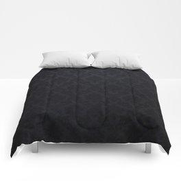 Black damask - Elegant and luxury design Comforters