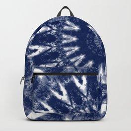 Shibori Mandala Backpack