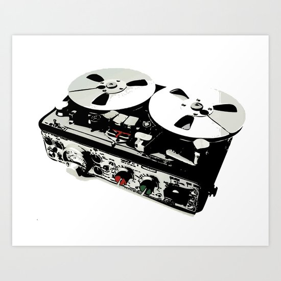 the ultimate tape recorder Art Print