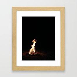 Haiti: Fire Unto Darkness Framed Art Print