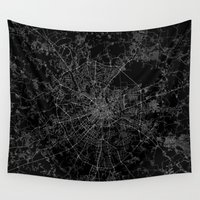 moscow Wall Tapestries featuring Moscow by Line Line Lines