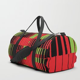 greencriss redcross Duffle Bag