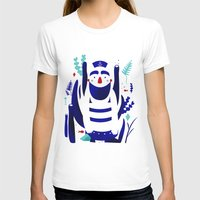 nemo T-shirts featuring Captain Nemo by Fabiola Correas