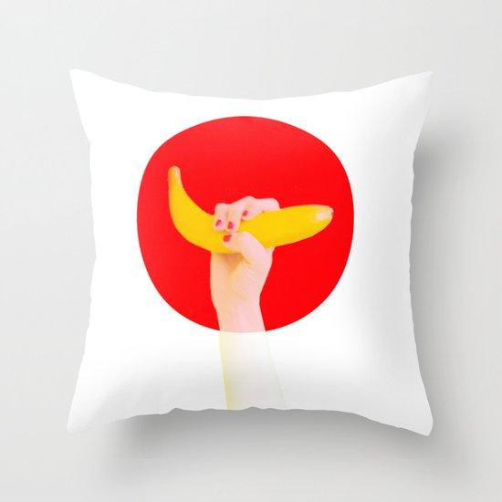 バナナ  Throw Pillow