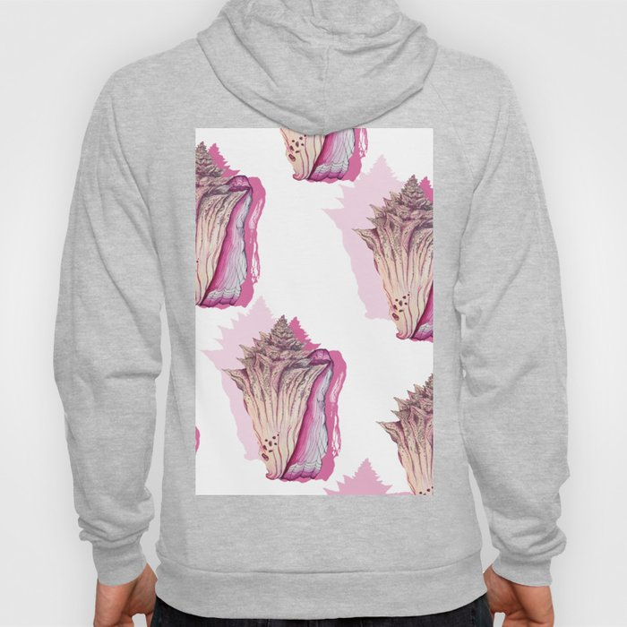 Pink Conch Hoody
