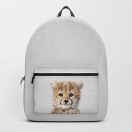 Baby Cheetah - Colorful Backpack