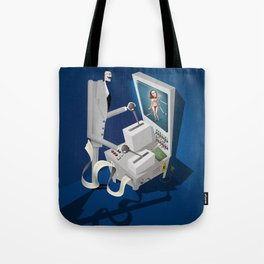 Engineering the Perfect Woman Tote Bag