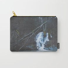 Emerging waterfall after the flood Carry-All Pouch