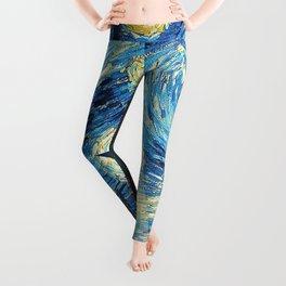 Starry Night Heroes Leggings