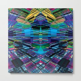 Cyber dimension Metal Print