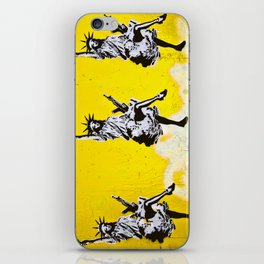 Liberty and Friends iPhone Skin