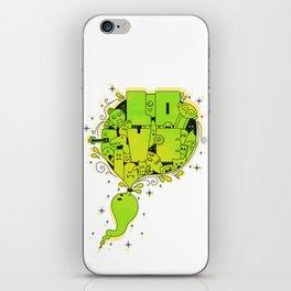 Love Doodle! iPhone Skin