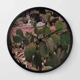 Prickly pals III Wall Clock