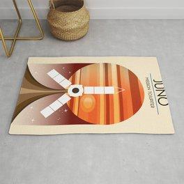 Juno - Mission to Jupiter Space art Rug