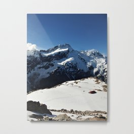 Mueller Hut from Mt. Oliver Metal Print