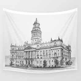 Wayne County Court House | Detroit Michigan Wall Tapestry
