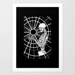 Holding Onto Hope ~ White Art Print