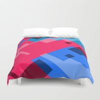 acid Duvet Covers featuring ACID TEA by Vincent Balbastre