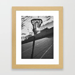 Laxin it up Framed Art Print