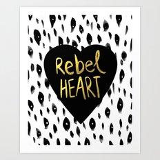 Rebel Heart Art Print