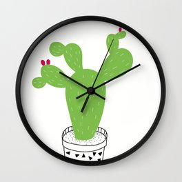 Cactus Love Wall Clock