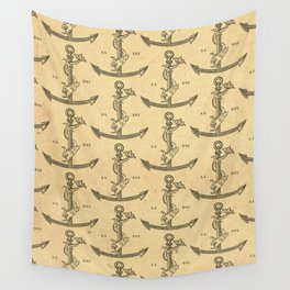 Aldus Manutius Printer Mark Wall Tapestry