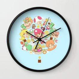 Mario Characters / Nintendo  Wall Clock