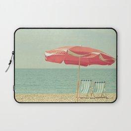 Deserted Beach Laptop Sleeve
