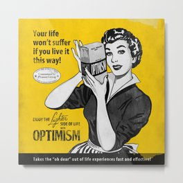 Optimism Metal Print