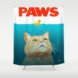 Paws! Shower Curtain