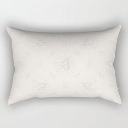 Shiny Diamonds neutral pattern Rectangular Pillow