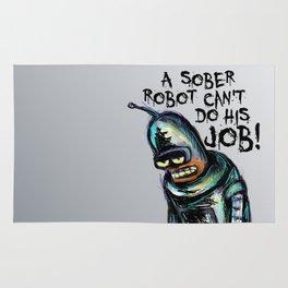 Sober Robot Rug