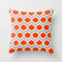 morocco Throw Pillows featuring Morocco by Amy Harlow