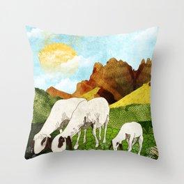 Mountain goats1 Throw Pillow