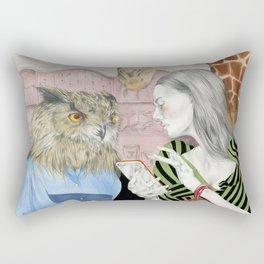 THE LOSS OF WONDER Rectangular Pillow