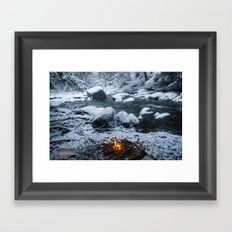 Vermont Winter Framed Art Print