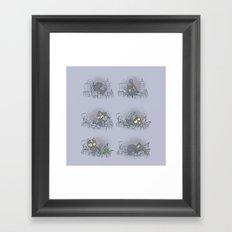DOOMcat Framed Art Print