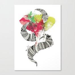 Art'lephant. Canvas Print