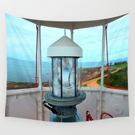 Point Prim Lighthouse View Wall Tapestry