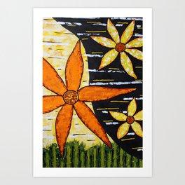 Flower Time Art Print