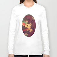 courage Long Sleeve T-shirts featuring Courage by James M. Fenner
