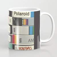 american psycho Mugs featuring American Psycho by r054