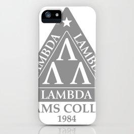 LAMBDA LAMBDA LAMBDA iPhone Case