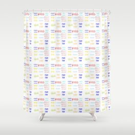 happy new year 10 Shower Curtain