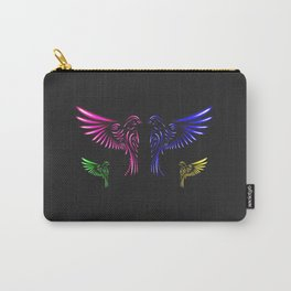 Glowing Birds Carry-All Pouch