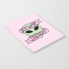 We Are Friendly (Pink) Notebook