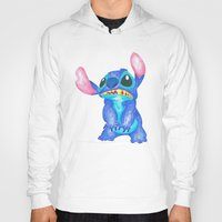 lilo and stitch Hoodies featuring Stitch by Kailan Harris (TheLonelyZero)