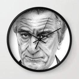 Robert De Niro portrait Wall Clock