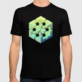 Exploded cube T-shirt